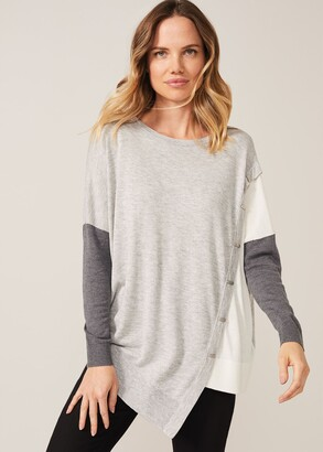 Phase Eight Sonny Colourblock Knit Top