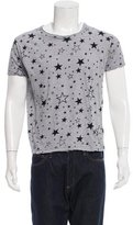 Saint Laurent Star Print T-Shirt