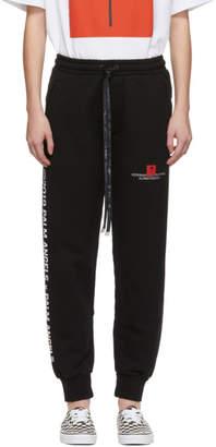 Palm Angels Black Palm x Palm Jogging Lounge Pants
