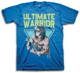 Freeze Ultimate Warrior Pose WWE Mens T-shirt-XL