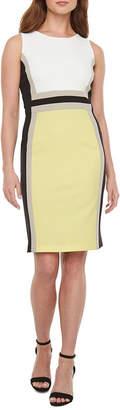 Liz Claiborne Sleeveless Midi Sheath Dress