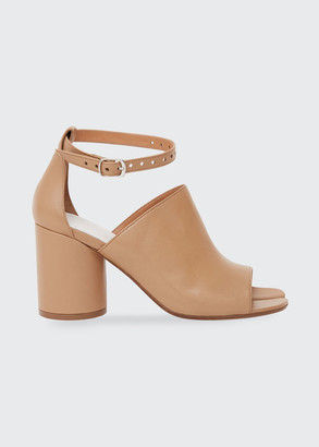 Maison Margiela Hannah Split-Toe Leather Sandals