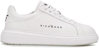 John Richmond Logo Print Low-Top Sneakers