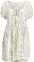 Denim & Supply Ralph Lauren Dot-Print Keyhole Dress