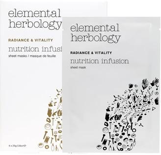 Elemental Herbology Nutrition Infusion Sheet Masks