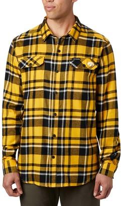 NCAA Men's Columbia Iowa Hawkeyes Collegiate Flannel Shirt