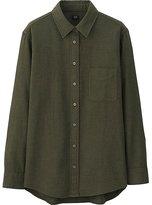 Uniqlo Women Flannel Long Sleeve Shirt