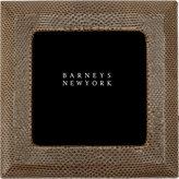 """Barneys New York 4"""" x 4"""" Snakeskin Frame"""