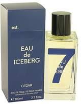 Iceberg Eau De Cedar by Eau De Toilette Spray 3.3 oz