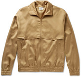 Cmmn Swdn - Appliquéd Satin Zip-up Jacket