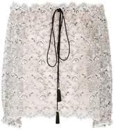 Philosophy di Lorenzo Serafini lace off-shoulder blouse