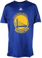 adidas Golden State Warriors Youth S/S Climalite Primary Logo Performance Tee