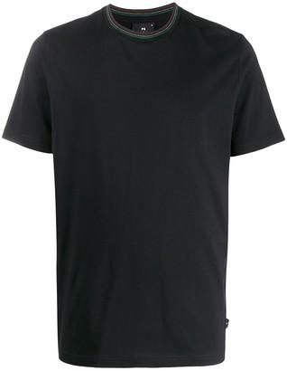 Paul Smith PS Sport Stripe Collar T-shirt