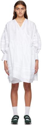 Cecilie Bahnsen SSENSE Exclusive White Amalie Dress