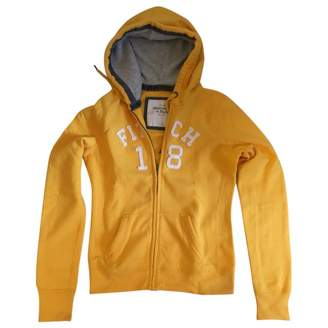 Abercrombie & Fitch Yellow Cotton Knitwear for Women