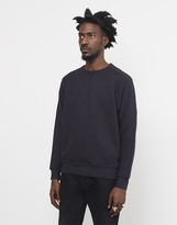 YMC Almost Grown Sweatshirt Black