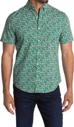 Original Penguin Short Sleeve Ditsy Floral Print Shirt