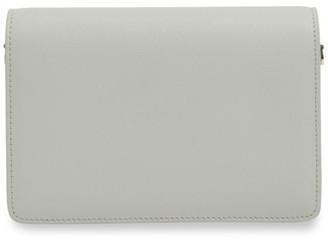 Tde Mini Pleated Leather Wallet