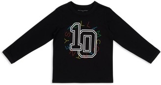 Stella Mccartney Kids Varsity Logo T-Shirt (3-14 Years)