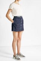 MiH Jeans M i H Cotton-Linen T-Shirt