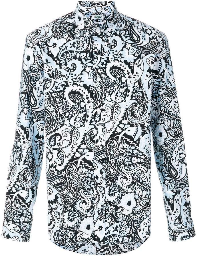 Kenzo paisley print shirt