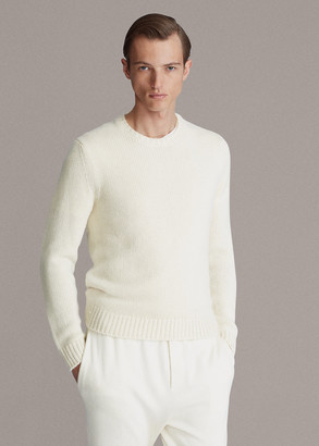 Ralph Lauren Silk-Cashmere Crewneck Sweater