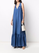 Thumbnail for your product : Kalita Tanit full-length silk dress
