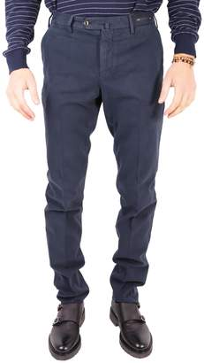Pt01 Cotton And Cashmere Trousers