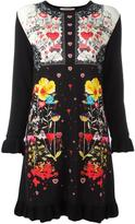 Piccione Piccione Piccione.Piccione long sleeved knit dress