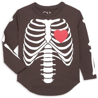 Chaser Girl's Skeleton Bones Tee