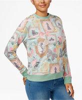 Mighty Fine Juniors' Disney Princess Graphic Sweatshirt