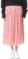 Tibi Sunray Flume Pleated Skirt