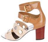 Christian Louboutin Leather Embellished Sandals