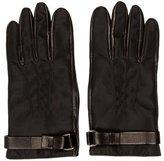 Prada Black Nylon Gloves