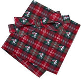 Lord & Taylor Boys 2-7 Skating Snoopy Bow Tie and Pocket Square Set