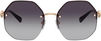 Bvlgari Geometric Sunglasses
