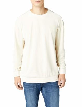 Urban Classics Men's Velvet Crewneck Sweater