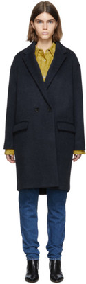 Isabel Marant Navy Filipo Timeless Coat