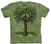 The Mountain Green Roots of Peace Tee - Unisex