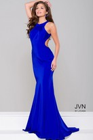 Jovani Fitted Open Back Dress JVN41874