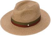 Maison Michel ribbon woven hat - women - Paper - S