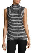 Rag & Bone Striped Mockneck Top