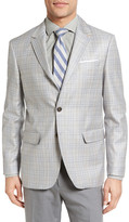 Moods of Norway Monrad Trim Fit Plaid Wool Sport Coat