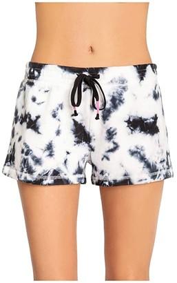 PJ Salvage Black Out Shorts (Black) Women's Pajama