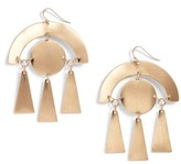 Sole Society Women's Geo Drop Earrings