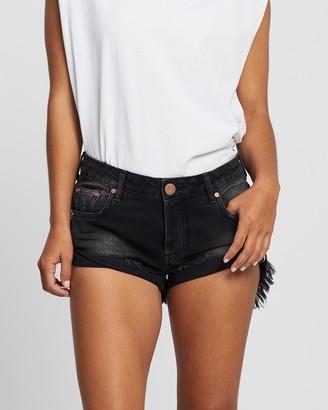 One Teaspoon Bandit Low-Waist Shorts