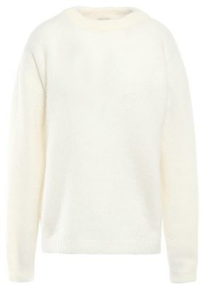 Acne Studios Melange Brushed Knitted Sweater