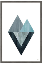 Triangle Convergence (Framed Giclee)