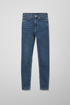 Thumbnail for your product : Weekday Body Extra High Skinny Jeans - Blue