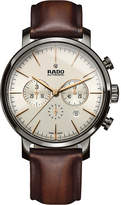 Rado R14076106 DiaMaster ceramic and leather watch